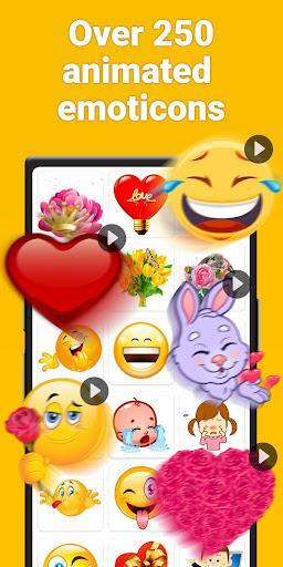 Stickers for WhatsApp & emoji - عکس برنامه موبایلی اندروید