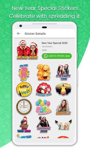 Stickers For WhatsApp - STICKER MAKER - عکس برنامه موبایلی اندروید