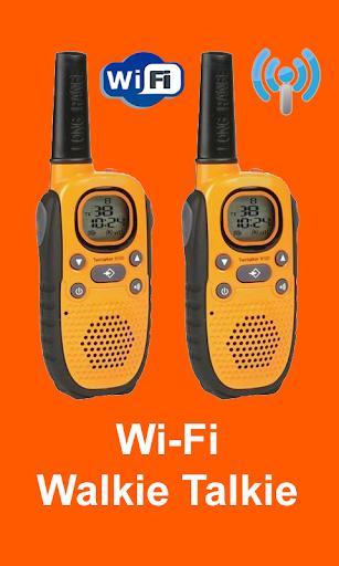 Wi-Fi Walkie Talkie - عکس برنامه موبایلی اندروید