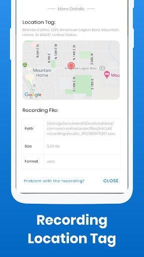 Call Recorder - IntCall ACR - عکس برنامه موبایلی اندروید
