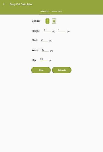 Weight Loss Calculator - BMI, & Calorie Calculator - عکس برنامه موبایلی اندروید