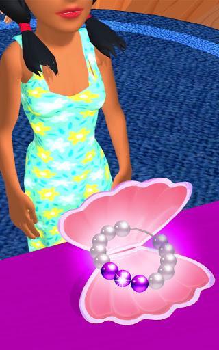 Pearl Master 3D - ASMR Jewelry - عکس برنامه موبایلی اندروید