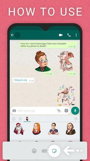 WAStickerApps (استیکرساز واتساپ) - عکس برنامه موبایلی اندروید