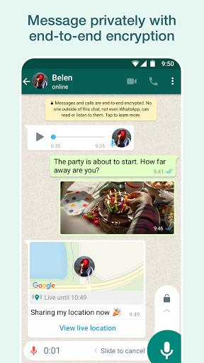 واتساپ WhatsApp Messenger - عکس برنامه موبایلی اندروید