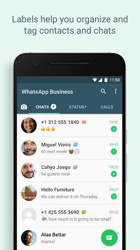 WhatsApp Business - عکس برنامه موبایلی اندروید
