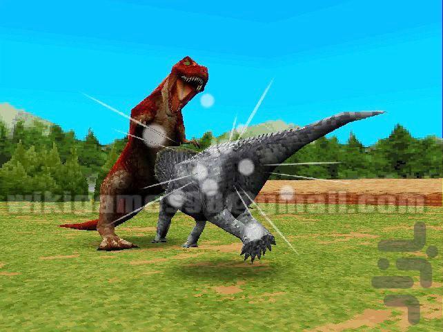 رینگ دایناسور ها - عکس بازی موبایلی اندروید