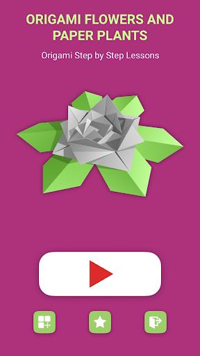 Origami Flowers And Plants: Paper Schemes - عکس برنامه موبایلی اندروید