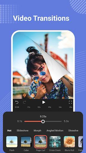 ویرایش ویدیو - FilmoraGo - Free Video Editor - عکس برنامه موبایلی اندروید
