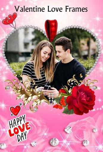 Romantic Photo Blending Frames: Love Frame Editor - عکس برنامه موبایلی اندروید