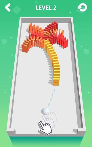 Rolling Domino - عکس بازی موبایلی اندروید