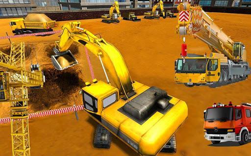 Heavy Crane Simulator Game 2019 – CONSTRUCTIONSIM - عکس برنامه موبایلی اندروید