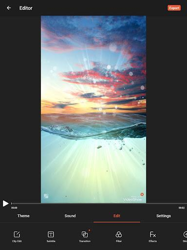 VideoShow Video Editor, Video Maker, Photo Editor - Image screenshot of android app