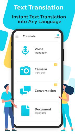 Voice Translator All Languages - عکس برنامه موبایلی اندروید