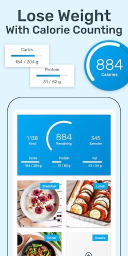 YAZIO Calorie Counter & Intermittent Fasting App – رژیم و کالری شمار - عکس برنامه موبایلی اندروید