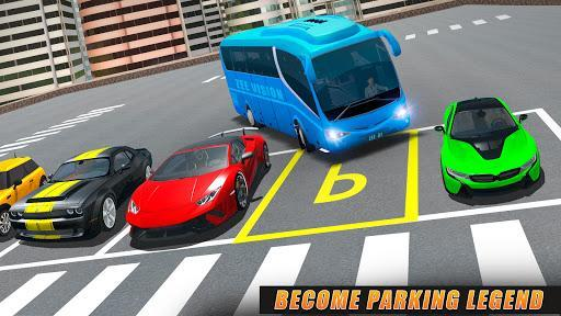 Modern Bus Parking Simulator - City Bus Games 2021 - عکس برنامه موبایلی اندروید