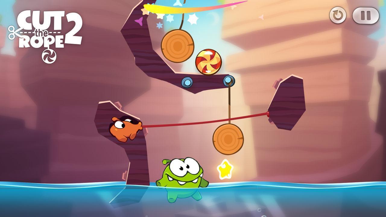 Cut the Rope 2 - عکس بازی موبایلی اندروید