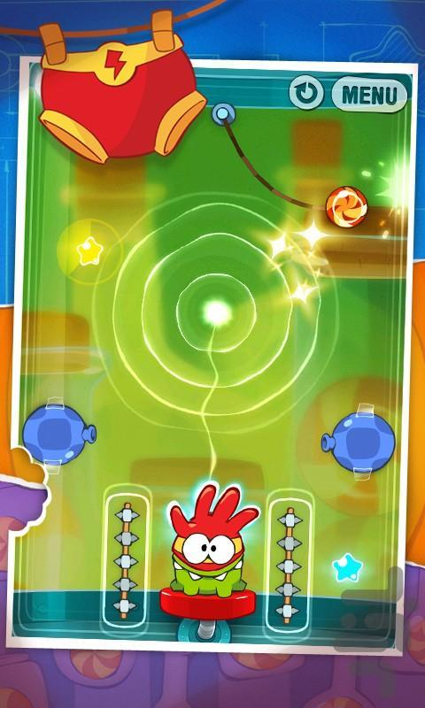 Cut the Rope: Experiments - عکس بازی موبایلی اندروید
