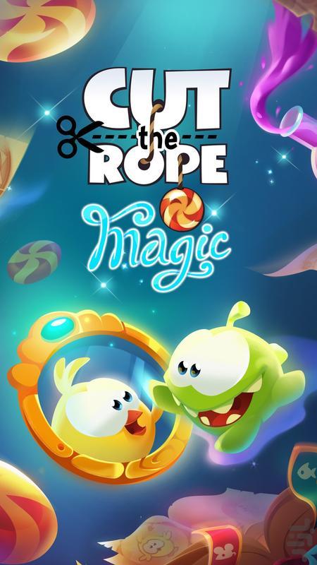 Cut the Rope: Magic - عکس بازی موبایلی اندروید