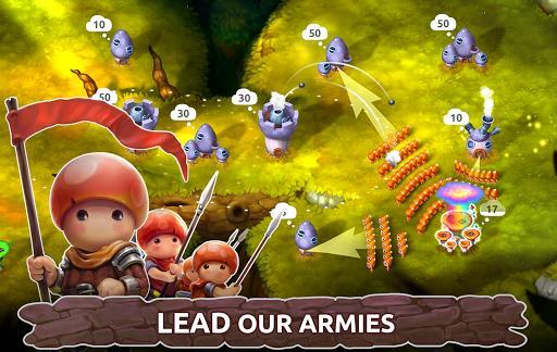 Mushroom Wars 2: RTS Tower Defense & Mushroom War - عکس بازی موبایلی اندروید