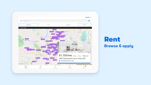 Zillow: Homes For Sale & Rent - عکس برنامه موبایلی اندروید