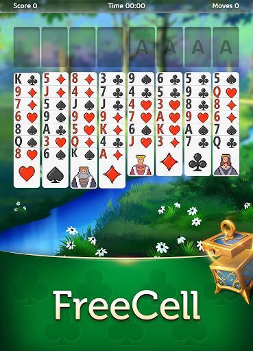 Magic Solitaire - Card Game - عکس بازی موبایلی اندروید