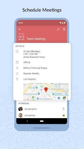 Zoho Mail - Email and Calendar - عکس برنامه موبایلی اندروید