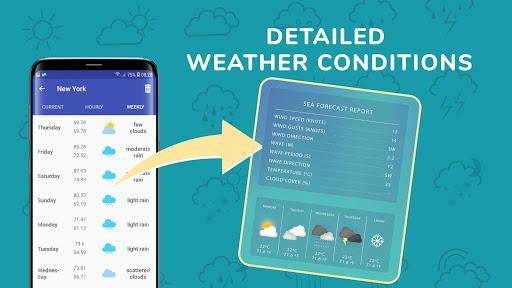 Today's Weather: Local Weather Forecast, Radar Map - عکس برنامه موبایلی اندروید