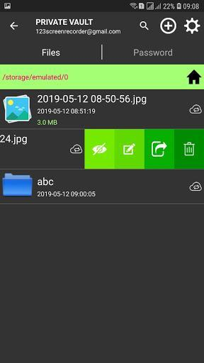 File Manager, Personal Vault for Google Drive - عکس برنامه موبایلی اندروید