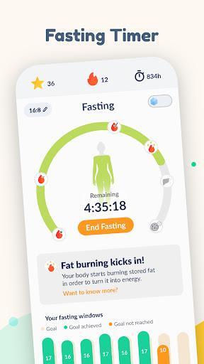 Fastic: Fasting Tracker App - عکس برنامه موبایلی اندروید