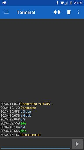 Serial Bluetooth Terminal - عکس برنامه موبایلی اندروید