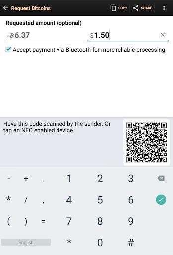 Bitcoin Wallet - عکس برنامه موبایلی اندروید