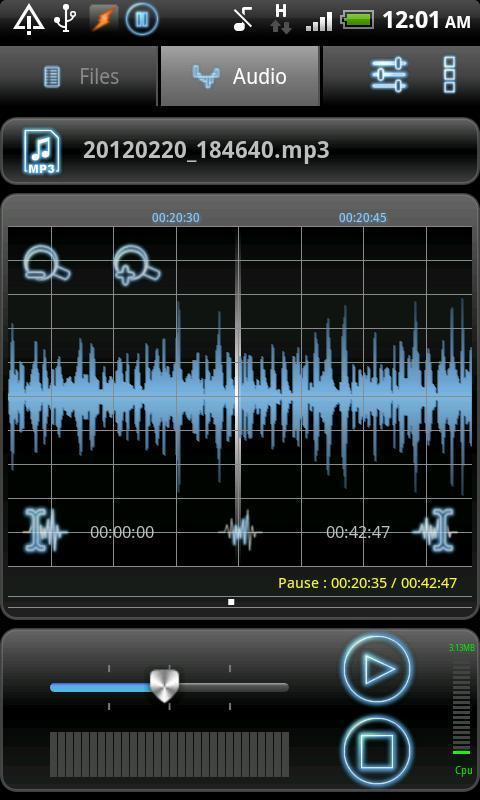 RecForge Lite - عکس برنامه موبایلی اندروید