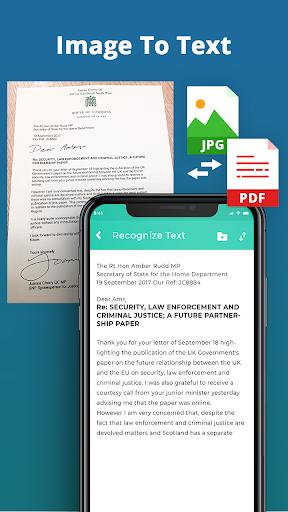 Document Scanner - Scan PDF & Image to Text - عکس برنامه موبایلی اندروید