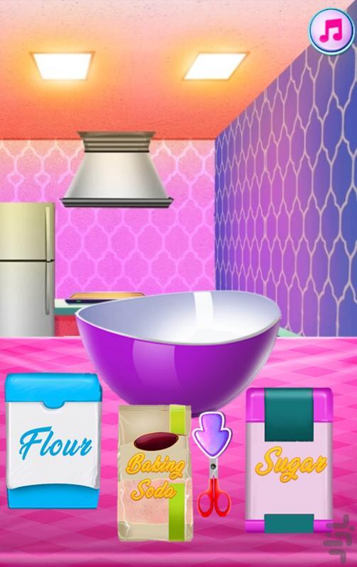 آشپزی پخت کیک پرنسس - عکس بازی موبایلی اندروید