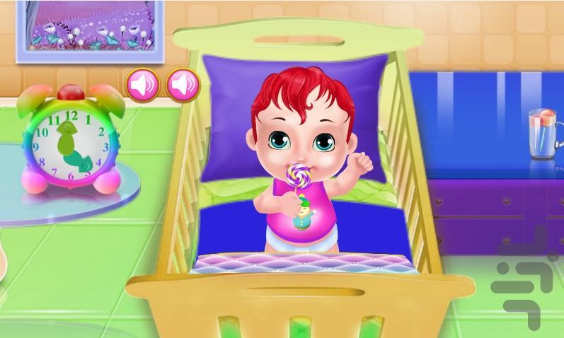 مراقبت از کودک - عکس بازی موبایلی اندروید