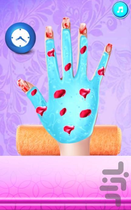 سالن زیبایی ناخن - عکس بازی موبایلی اندروید