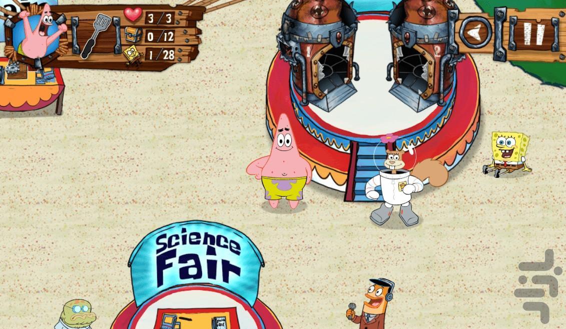 پاتریک و باب اسفنجی - عکس بازی موبایلی اندروید