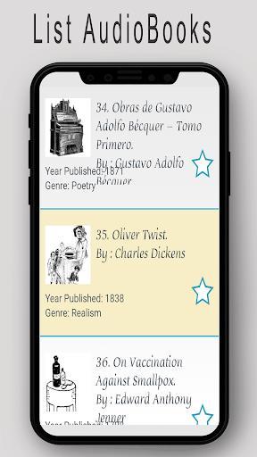 Audiobooks for English Language Learners - عکس برنامه موبایلی اندروید