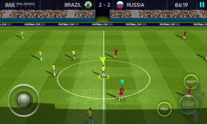 جام جهانی 2019! - عکس بازی موبایلی اندروید
