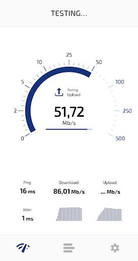 Speed Check Light 5G / 4G LTE / WiFi - عکس برنامه موبایلی اندروید