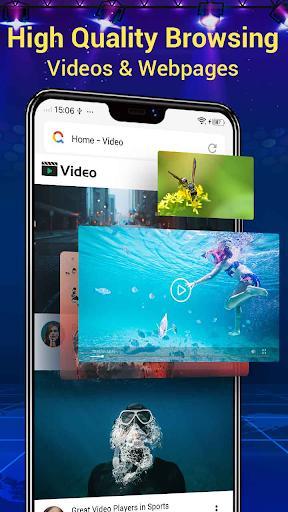 Web Browser & Fast Explorer - عکس برنامه موبایلی اندروید