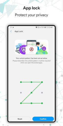 Green Battery Saver, Booster, Cleaner, App Lock - عکس برنامه موبایلی اندروید