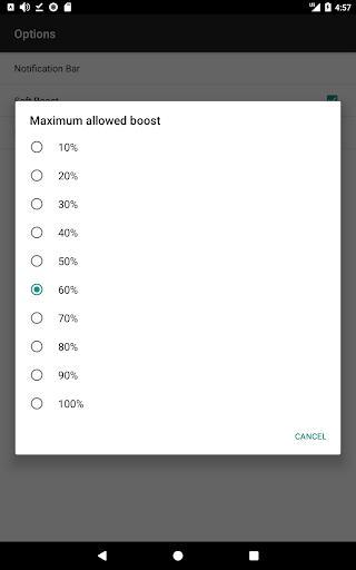 Speaker Booster Full Pro - عکس برنامه موبایلی اندروید