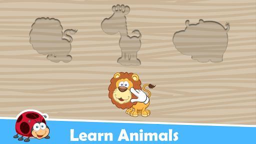 Animals Puzzles for Kids 🐧🐯🐋🦑🐝😺 - عکس برنامه موبایلی اندروید