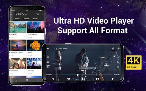 Video Player All Format for Android - عکس برنامه موبایلی اندروید