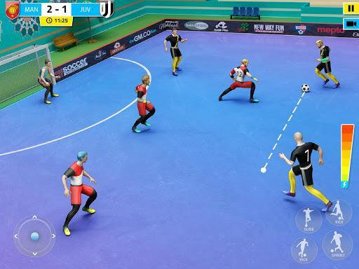 Indoor Soccer Games: Play Football Superstar Match - عکس بازی موبایلی اندروید