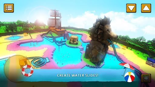 Water Park Craft GO: Waterslide Building Adventure - عکس بازی موبایلی اندروید