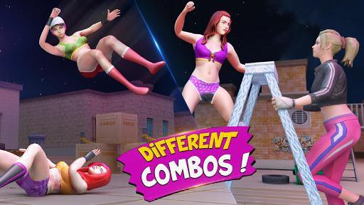 Cage Wrestling Games: Ring Fighting Champions - عکس بازی موبایلی اندروید