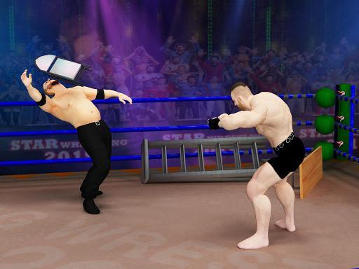 Tag Team Wrestling Games: Mega Cage Ring Fighting - عکس بازی موبایلی اندروید