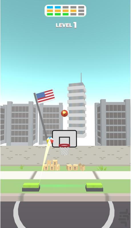 بسکتبال بازی - عکس بازی موبایلی اندروید